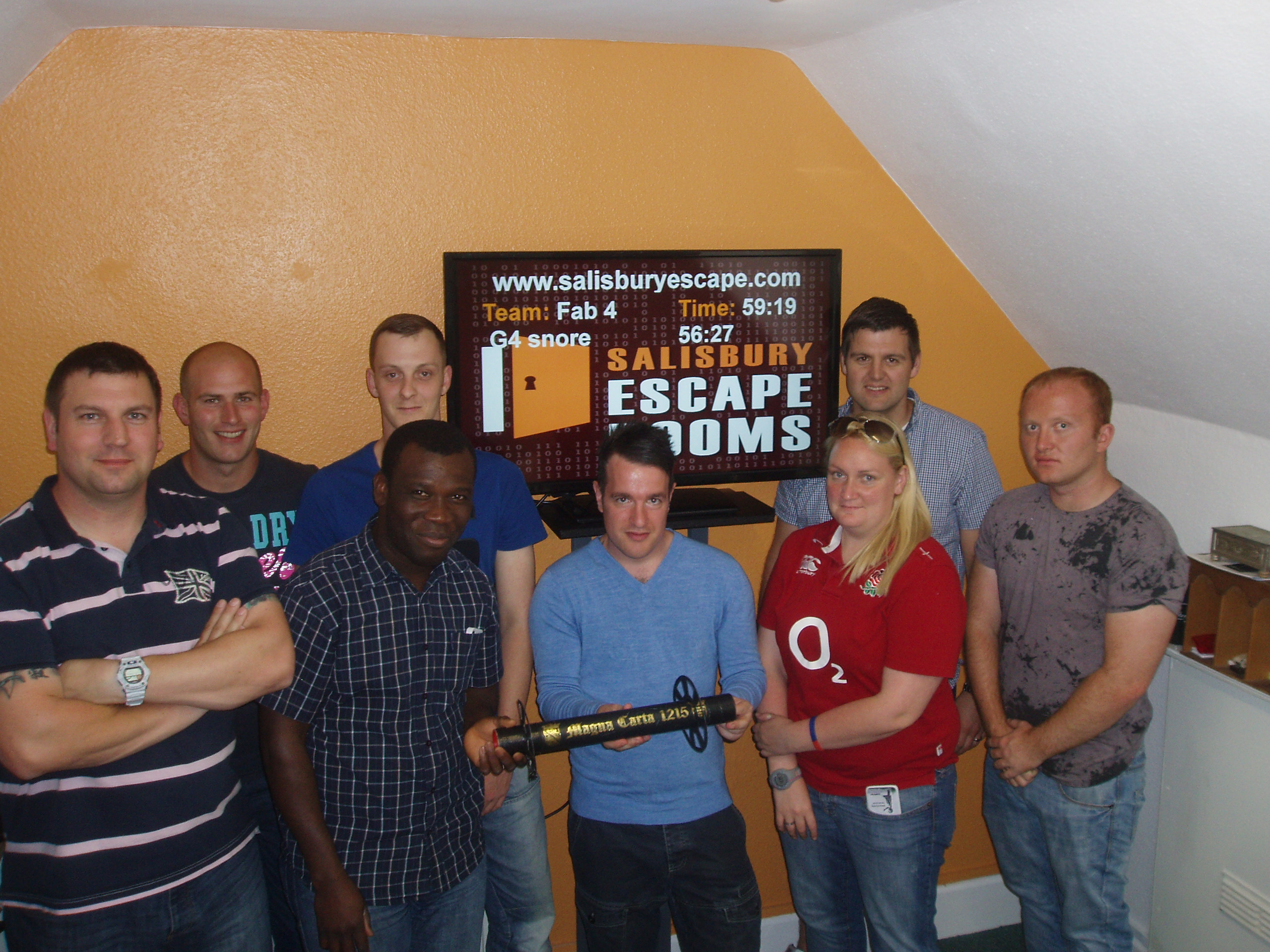 Excellent team building - so much better than than the usual corporate activity